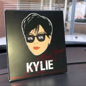 brand new kylie kris collab eyeshadow/ velvet lip